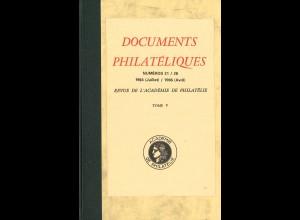 Documents Philateliques - Revue de l'Academie de Philatélie (Paris) - 13 Bände!