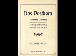 DAS POSTHORN - Illustrierte Zeitschrift, Jg. 1906