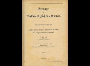Gebr. Senf: Beiträge zur Postwertzeichenkunde (1890–1905)