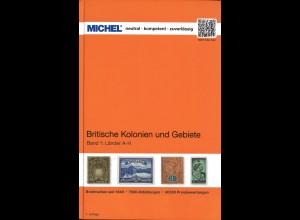 MICHEL Britische Kolonien und Gebiete Band 1 und 2 kpl.
