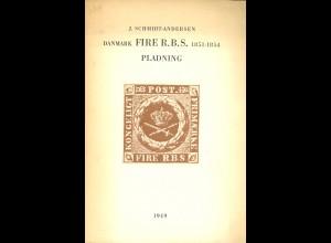 J. Schmidt-Andersen: Danmark Fire R.B.S. 1851–1854 Pladning (1949)