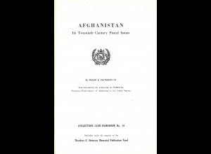 Frank E. Patterson III: Afghanistan. Its Twentieth Century Postal Issues (1964)