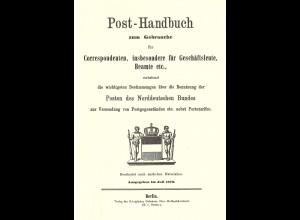 Post-Handbuch zum Gebrauche für Correspondenten ... (Reprint)