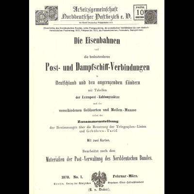 Spalink/Krug, Die Ganzsachen-Umschläge der Invaliden-Stiftungen 1868 bis 1875