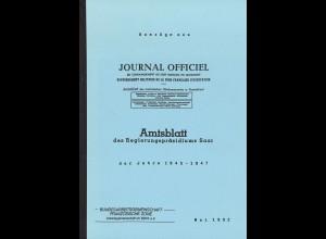 Amtsblatt des Regierungspräsidiums Saar 1945–1947