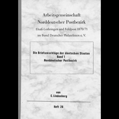 Carl Lindenberg: Die Briefumschläge der Deutschen Staaten. Bd. 1: NDP