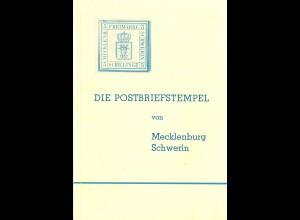 Georg Albert: Die Postbriefstempel von Mecklenburg Schwerin (1966)