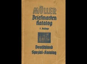 Müller Deutschland Spezialkatalog (1956)