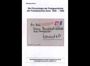 W. Straub:: Die Chronologie der Postgeschichte der Französischen Zone 1945-1950