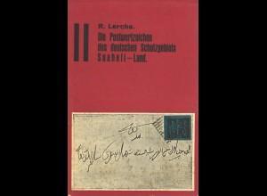 R. Lerche: Die Postwertzeichen des deutschen Schutzgebiets Suaheli Land. (1934)