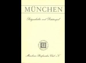 MÜNCHEN. Postgeschichte und Poststempel (1973)