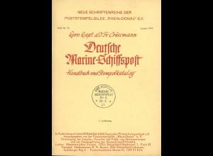 Korv. Kapt. Fr. Crüsemann: Deutsche Marine-Schiffspost (12 Hefte)