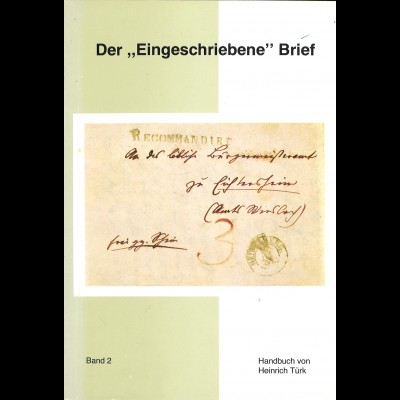 """Heinrich Türk: Der """"Eingeschriebene"""" Brief (Band 2, 1977)"""