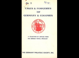 Germany Philatelic Society: Fakes & Forgeries of Germany & Colonies (1966)