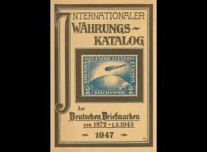 Hans Bröcker: Internationaler Währungs-Katalog der Deutschen Briefmarken