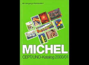 MICHEL CEPT/UNO-Katalog 2000(01