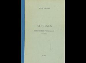 Werner Münzberg: Preußen. Postanstalten-Poststempel 1817–1867 (8 Bände)
