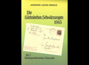 Anderson, Meyer, Porsche: Die Sächsischen Schwärzungen 1945 (1991)