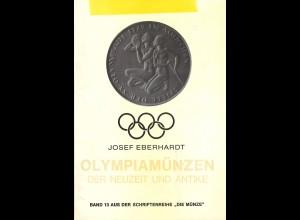 Josef Eberhardt: Olympiamünzen der Neuzeit und Antike (mgl.-Ex.)