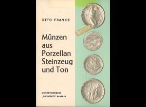 Otto Franke: Münzen aus Porzellan Steinzeug und Ton (1975)