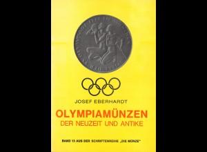 Josef Eberhardt: Olympiamünzen der Neuzeit und Antike