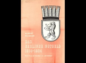 Albert Peisker: Das Berliner Notgeld 1914–1924 (1972)