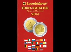 Leuchtturm EURO-Katalog (3 Ausgaben 2014–2018)
