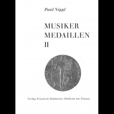 Paul Niggl: Musiker-Medaillen II (1987)