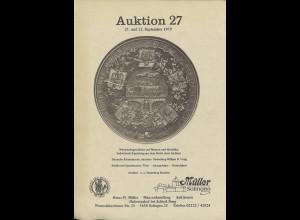 Müller, Solingen: Auktion 27 (1979) - Wirtschaftsgeschichte auf Münzen und Med.