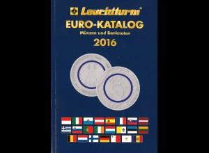 Leuchtturm EURO-Katalog (2 Ausgaben 2016–2017)