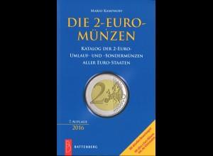 Mario Kamphoff: Die 2-Euro-Münzen (7. Aufl. 2016)