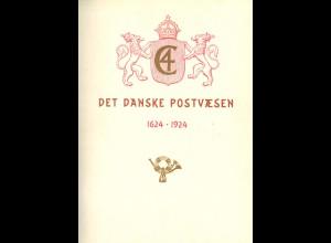 DÄNEMARK: Det Kongelige Danske Postvaesen Gennem 300 Aar 1624–1924