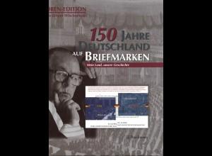 Hans-Jürgen Wischnewski: 150 Jahre Deutschland auf Briefmarken (Autoren-Edition)