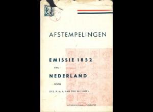 Van der Willigen: Afstempelingen Emmissie 1852 van Nederland (1955)