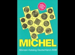 MICHEL Münzen-Katalog Deutschland 2008
