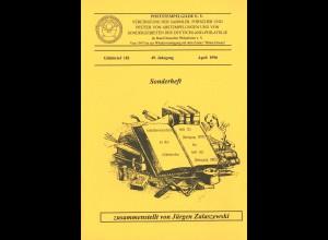 J. Zalaszewski: Gildebrief 183 (1996): Inhaltsverzeichnis Heft 131-181