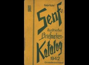 Gebr. Senf: Katalog-Lot von ca. 20 Exemplaren (1914-1942)
