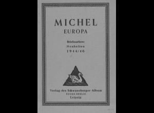 MICHEL Europa 1944/46 (Leipzig 1946)