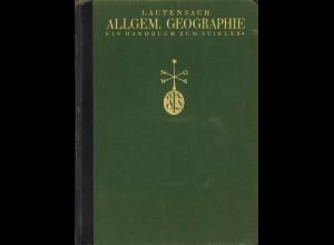 Lautensach: Länderkunde + Allgemeine Geographie (1926)