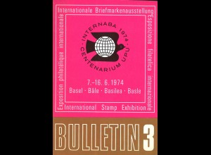SCHWEIZ: INTERNABA 1974 in Basel