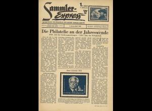 Sammler-Express, Jahrgang 1951