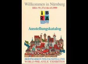 IBRA 1999 Nürnberg Ausstellungskatalog + Fachkatalog mit 3 kr. Bayern (Neudruck)