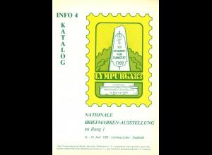1983: Lympurga 83 in Limburg - Nationale Briefmarken-Ausstellung (Info 3+4)