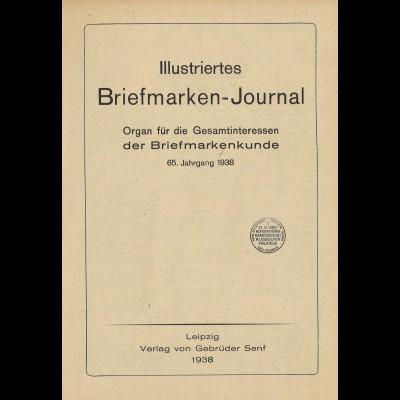 Gebr. Senf: Illustriertes Briefmarken-Journal (Jg.1938)
