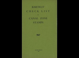 Bartel's Check List of Canal Zone Stamps (second edition, 1908)