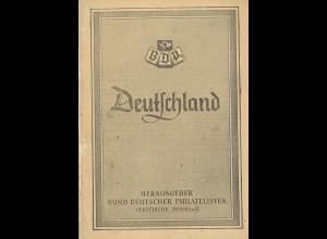 Bund Deutscher Philatelisten: Deutschland-Katalog (1947)