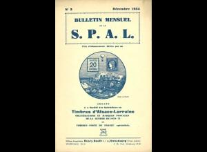 Bulletin Mensuel de la S.P.A.L. (1935/36)