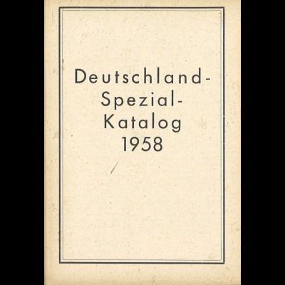 Robert Wrona: Deutschland Spezial-Katalog 1958