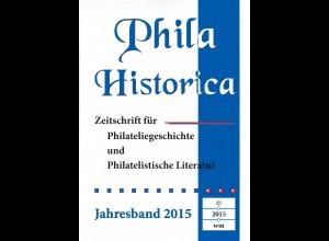 PHILA HISTORICA. Jahresband 2015