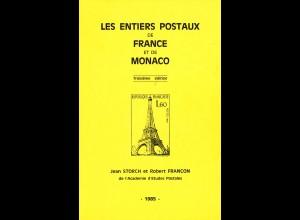 Storch/Francon: Les Entiers Postaux de France et de Monaco (1985)